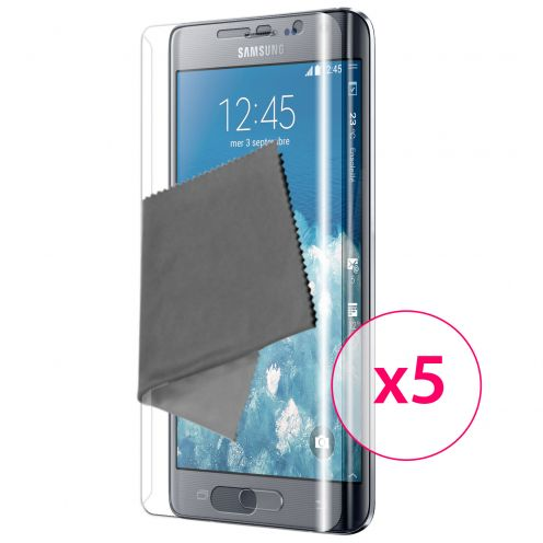 Clubcase ® Ultra Clear Full Cover HD screen protector for Galaxy Note Edge 5-Pack