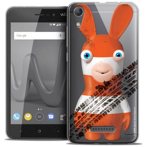"Crystal Gel Wiko Lenny 4 (5"") Case Lapins Crétins™ On the Road"