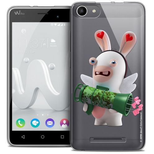 Crystal Gel Wiko Jerry Case Lapins Crétins™ Cupidon Soldat