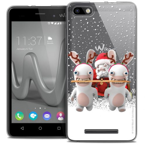 Crystal Gel Wiko Lenny 3 Case Lapins Crétins™ Lapin Traineau