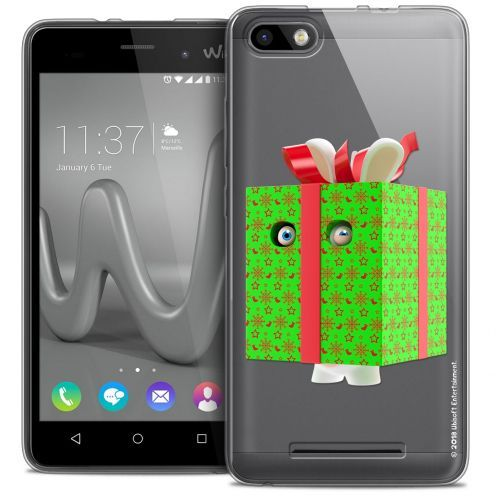 Crystal Gel Wiko Lenny 3 Case Lapins Crétins™ Lapin Surprise Vert