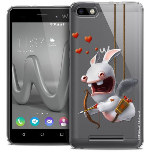 Crystal Gel Wiko Lenny 3 Case Lapins Crétins™ Flying Cupidon