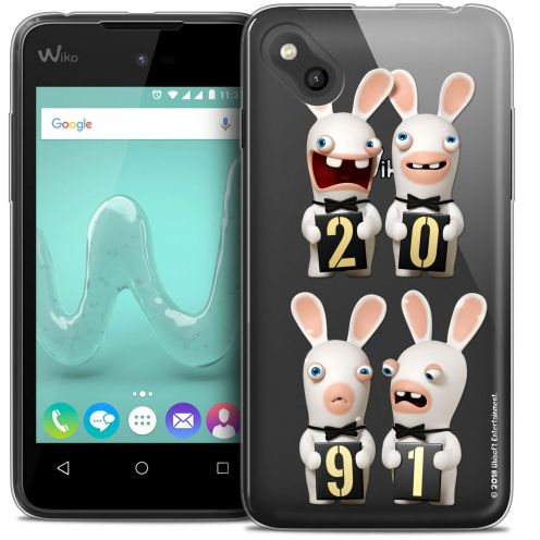 Crystal Gel Wiko Sunny Case Lapins Crétins™ New Year