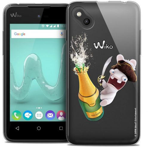 Crystal Gel Wiko Sunny Case Lapins Crétins™ Champagne !