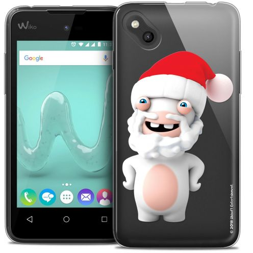 Crystal Gel Wiko Sunny Case Lapins Crétins™ Lapin Noël