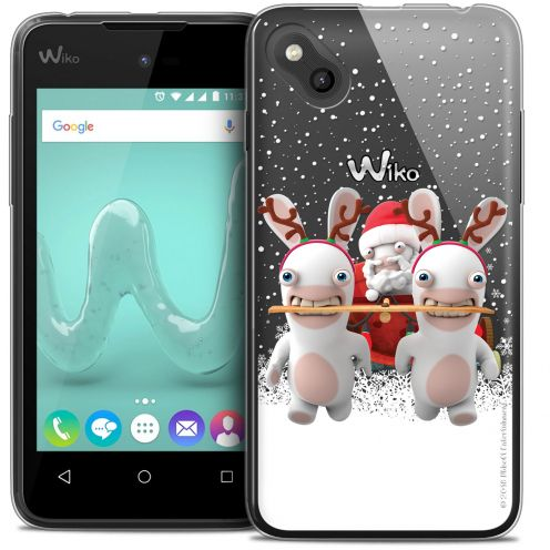 Crystal Gel Wiko Sunny Case Lapins Crétins™ Lapin Traineau