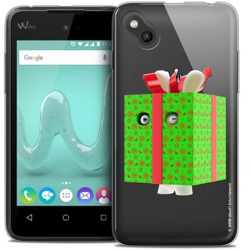 Crystal Gel Wiko Sunny Case Lapins Crétins™ Lapin Surprise Vert