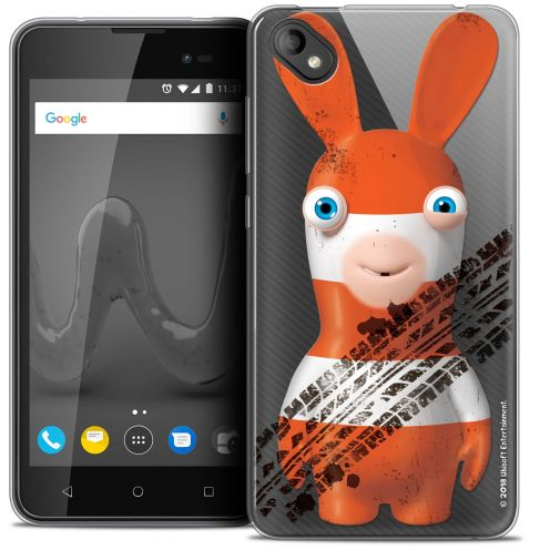 """Crystal Gel Wiko Sunny 2 PLUS (5"""") Case Lapins Crétins™ On the Road"""