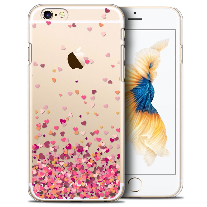 Extra Slim Crystal iPhone 6/6s Case Sweetie Heart Flakes