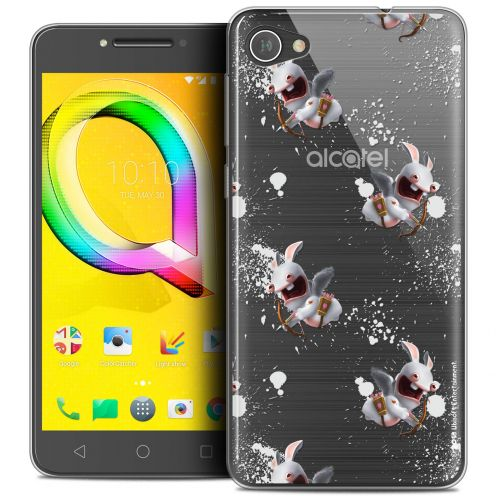 "Crystal Gel Alcatel A5 LED (5.2"") Case Lapins Crétins™ Cupidon Pattern"