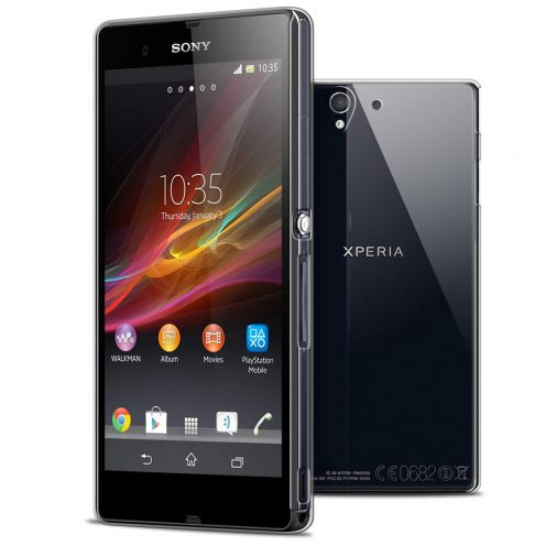 Slim Crystal Clear Hard Case for Sony Xperia Z