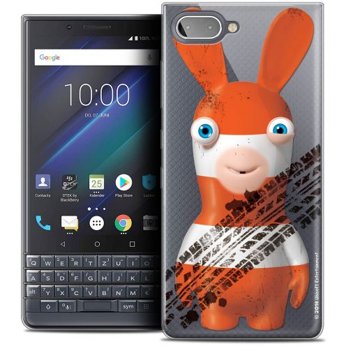 """Crystal Gel BlackBerry Key2 LE (4.5"""") Case Lapins Crétins™ On the Road"""