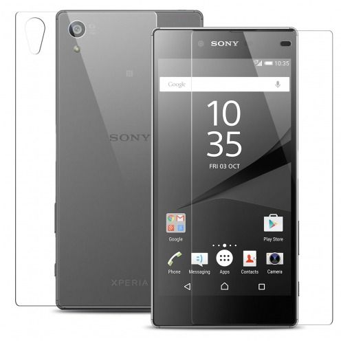 Glass Pro+ Ultra HD 9H 0.33mm Front+Back Tempered Glass Screen Protector for Sony Xperia Z5