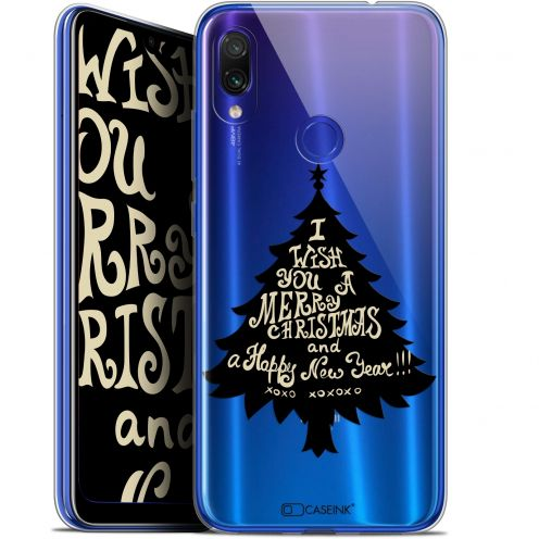"Extra Slim Gel Xiaomi Redmi Note 7 (6.3"") Case Noël 2017 XOXO Tree"