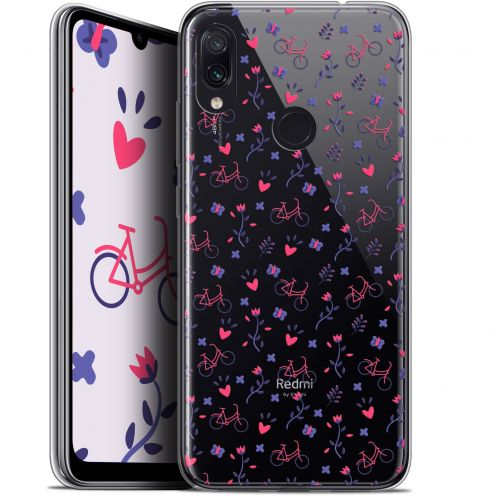"Extra Slim Gel Xiaomi Redmi Note 7 (6.3"") Case Love Bicycle"