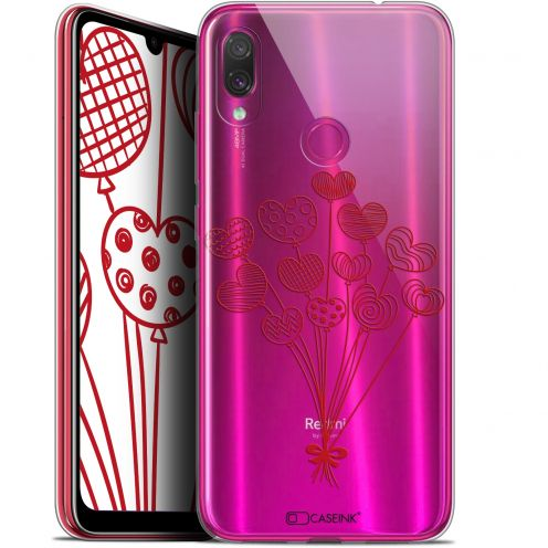 "Extra Slim Gel Xiaomi Redmi Note 7 (6.3"") Case Love Ballons d'amour"