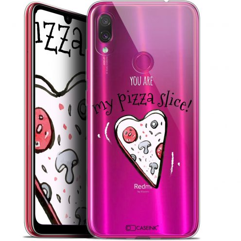 "Extra Slim Gel Xiaomi Redmi Note 7 (6.3"") Case Love My Pizza Slice"