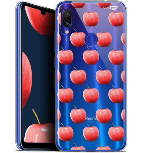 "Extra Slim Gel Xiaomi Redmi Note 7 (6.3"") Case Design Cerises"