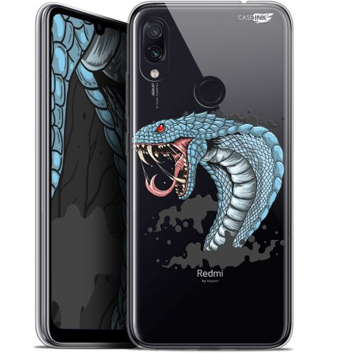 "Extra Slim Gel Xiaomi Redmi Note 7 (6.3"") Case Design Cobra Draw"