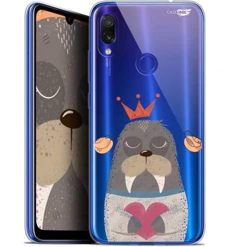 "Extra Slim Gel Xiaomi Redmi Note 7 (6.3"") Case Design Sketchy Walrus"