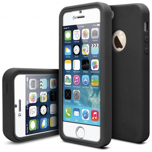 Shockproof case for Apple iPhone 5/5s Ultimate 360 Touch Black