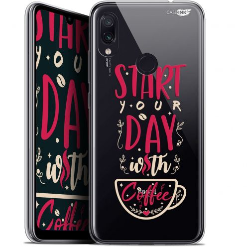 "Extra Slim Gel Xiaomi Redmi Note 7 (6.3"") Case Design Start With Coffee"