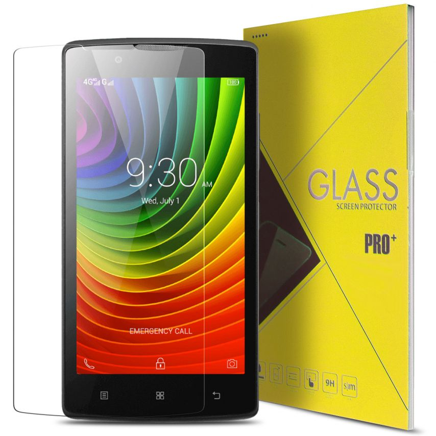Glass Pro+ Ultra HD 9H XthicknessX Tempered Glass Screen Protector for Lenovo A1000