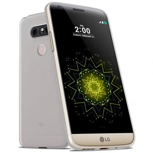 Frozen Ice Extra Slim Clear soft case for LG G5