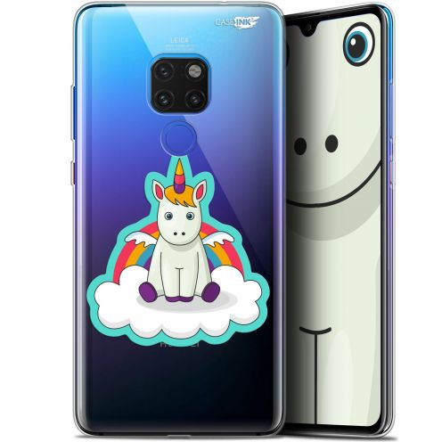 "Extra Slim Crystal Gel Huawei Mate 20 (6.5"") Case Design Bébé Licorne"