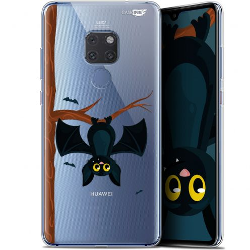 "Extra Slim Crystal Gel Huawei Mate 20 (6.5"") Case Design Petite Chauve Souris"