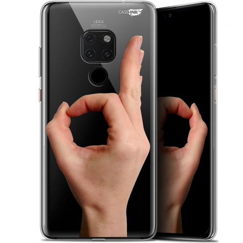 "Extra Slim Crystal Gel Huawei Mate 20 (6.5"") Case Design Le Jeu du Rond"