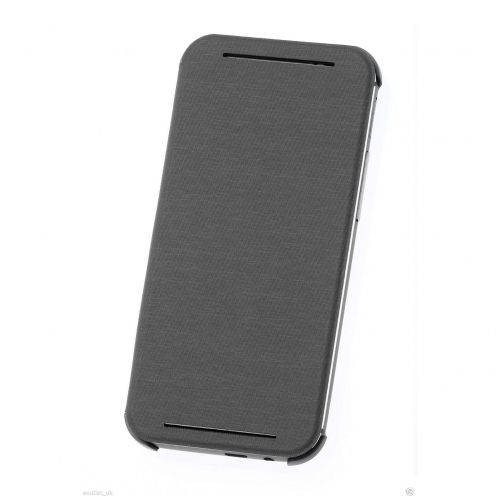 Black Flip Cover HTC One M8 official HTC