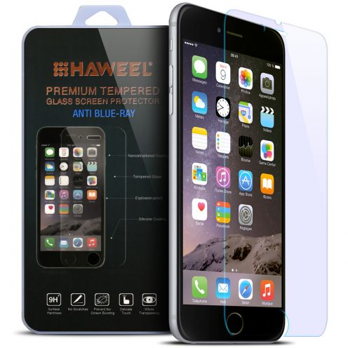 Anti Blue Ray Ultra HD 9H 0.33mm Tempered Glass Screen Protector for Apple iPhone 6/6s Plus 5.5