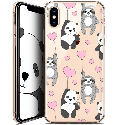 Extra Slim Crystal Gel Apple iPhone X (10) Case Design Panda'mour