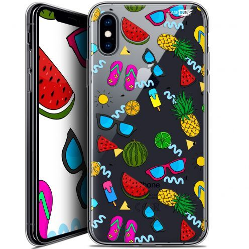 Extra Slim Crystal Gel Apple iPhone X (10) Case Design Summers