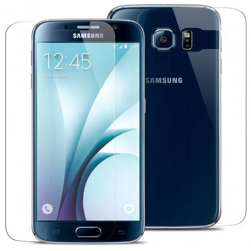 Glass Pro+ Ultra HD 9H 0.33mm Front+Back Tempered Glass Screen Protector for Samsung Galaxy S6