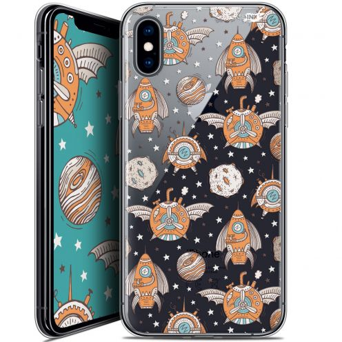 Extra Slim Crystal Gel Apple iPhone X (10) Case Design Punk Space