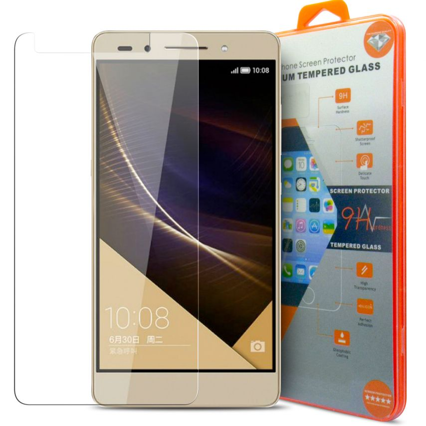 Glass Pro+ Ultra HD 9H 0.33mm Tempered Glass Screen Protector for Huawei Honor 5X
