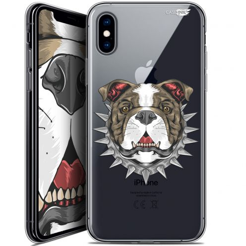 Extra Slim Crystal Gel Apple iPhone X (10) Case Design Doggy