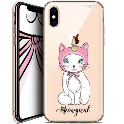 Extra Slim Crystal Gel Apple iPhone X (10) Case Design Ce Chat Est MEOUgical