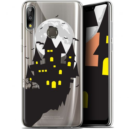 "Extra Slim Gel Asus Zenfone Max Pro (M2) ZB631KL (6.26"") Case Halloween Castle Dream"