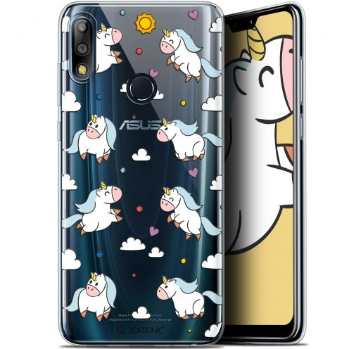 "Extra Slim Gel Asus Zenfone Max Pro (M2) ZB631KL (6.26"") Case Fantasia Licorne In the Sky"