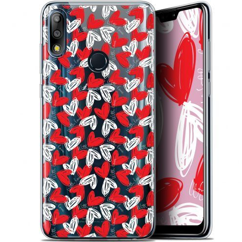 "Extra Slim Gel Asus Zenfone Max Pro (M2) ZB631KL (6.26"") Case Love With Love"
