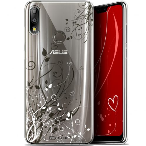 "Extra Slim Gel Asus Zenfone Max Pro (M2) ZB631KL (6.26"") Case Love Hearts Flowers"