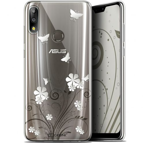 "Extra Slim Gel Asus Zenfone Max Pro (M2) ZB631KL (6.26"") Case Summer Papillons"
