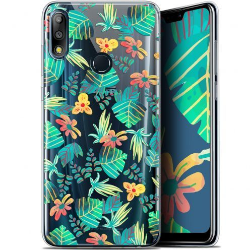 "Extra Slim Gel Asus Zenfone Max Pro (M2) ZB631KL (6.26"") Case Spring Tropical"