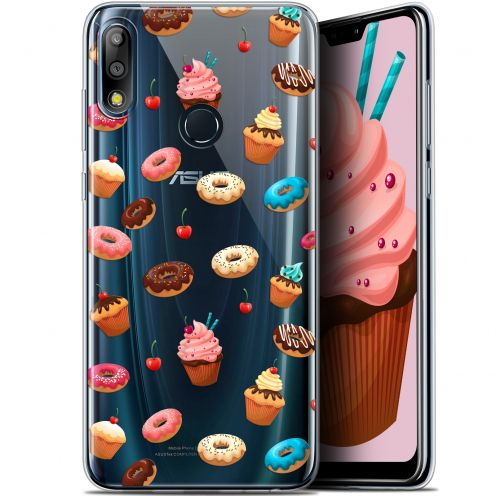 "Extra Slim Gel Asus Zenfone Max Pro (M2) ZB631KL (6.26"") Case Foodie Donuts"