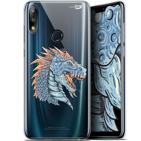 "Extra Slim Gel Asus Zenfone Max Pro (M2) ZB631KL (6.26"") Case Design Dragon Draw"