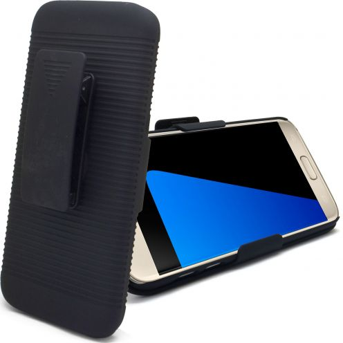 "Belt Case ""HOLSTER"" for Samsung Galaxy S7 Black"