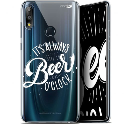 "Extra Slim Gel Asus Zenfone Max Pro (M2) ZB631KL (6.26"") Case Design Its Beer O'Clock"